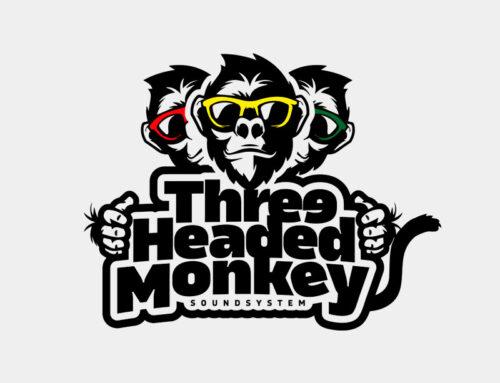 THREE HEADED MONKEY LOGO